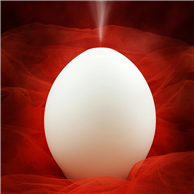 Lampada ad ultrasuoni Oval
